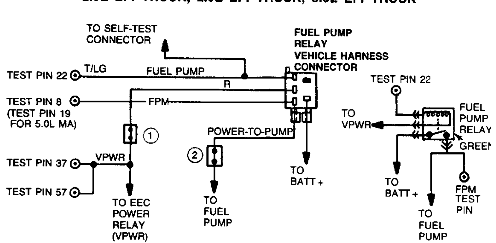 original eec iv wiring diagram eec iv bracket \u2022 free wiring diagrams life 1989 ford ranger wiring diagram at soozxer.org