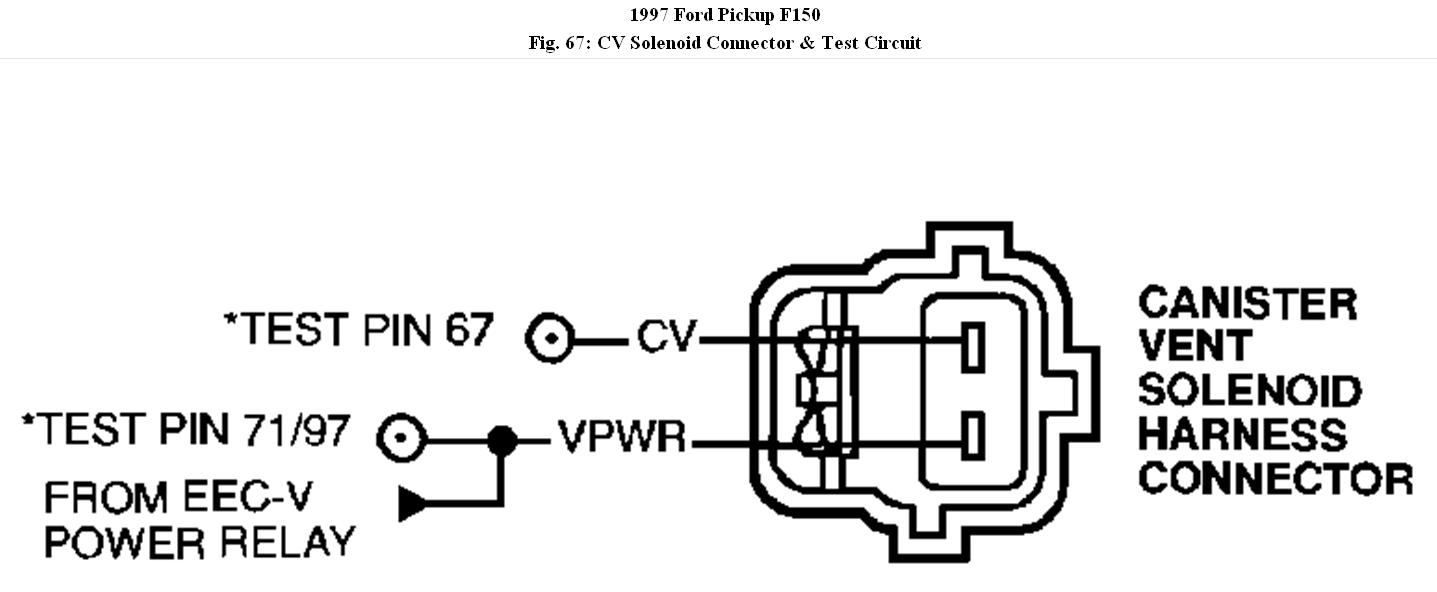 Check Engine Light My Is On With A Trouble Ford Eec V Wiring Diagram Thumb