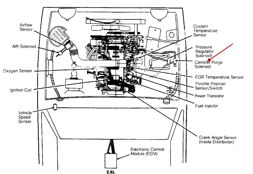 vacuum solenoid valve for isuzu trooper  vacuum  free