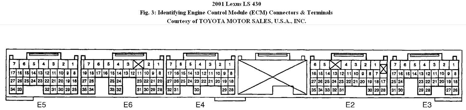 Lexus Ls430 Engine Compartment Diagram Lexus Auto Parts