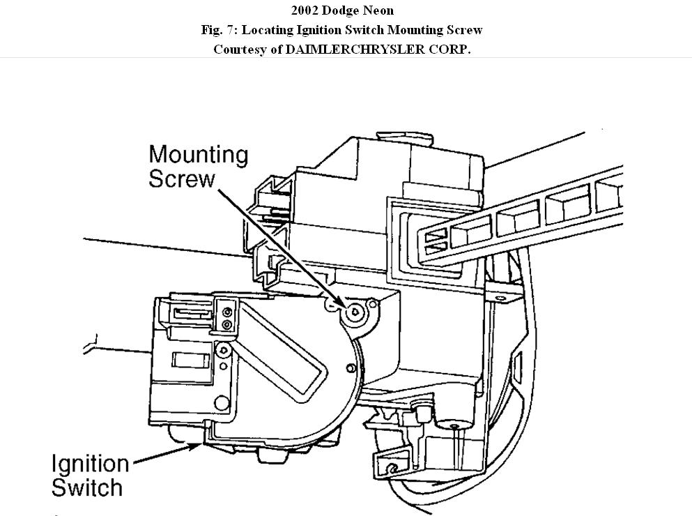 dodge neon starter switch diagram   33 wiring diagram