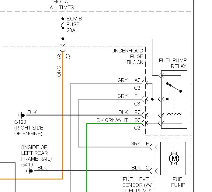 Gmc Fuel Pump  I Have A  U0026 39 99 Gmc Sonoma  It Quit Running