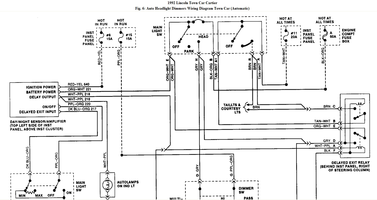 Wrg 7045 Auto Headlight Wiring Diagram