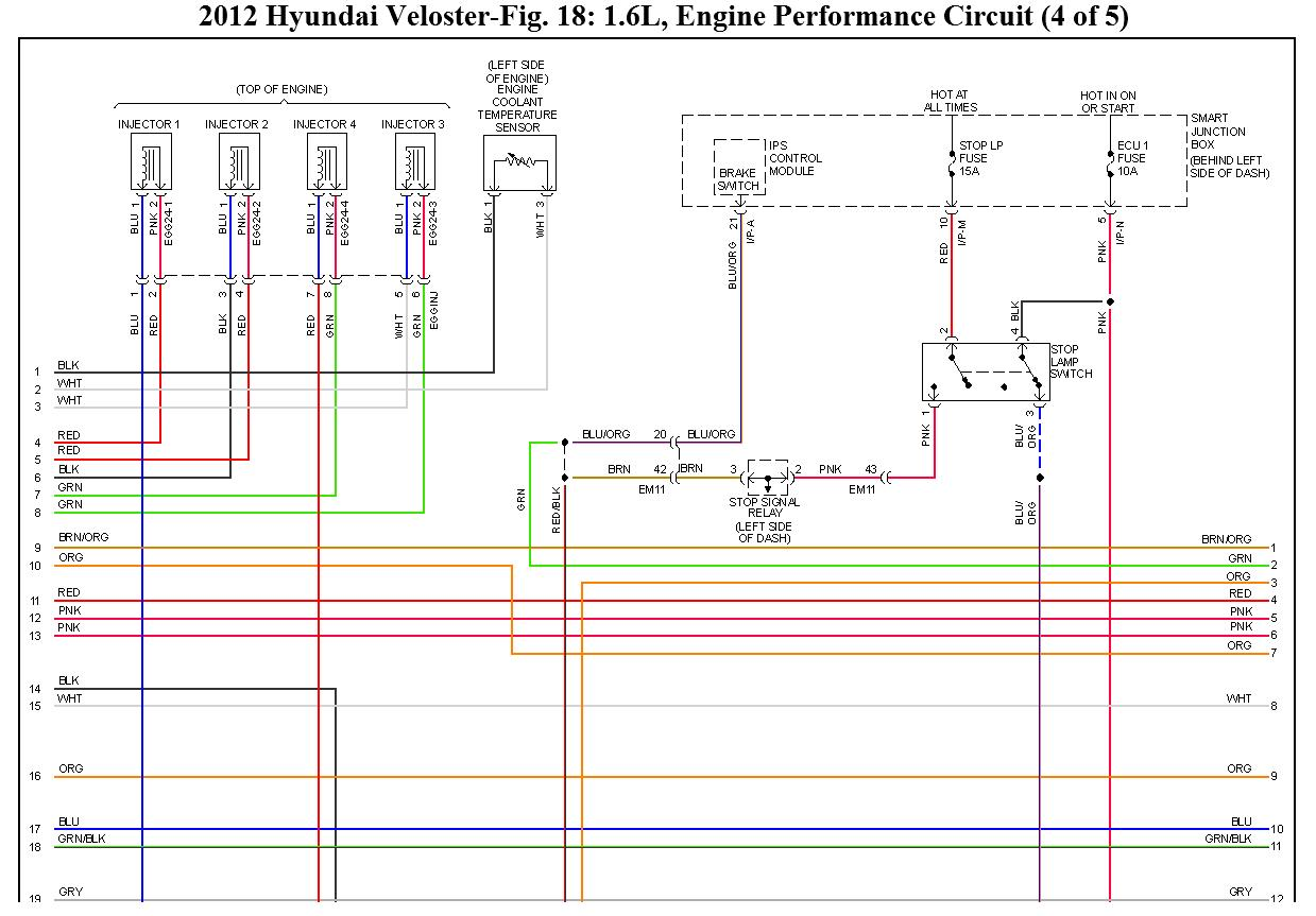 2012 Hyundai Veloster Fuse Diagram Schematic Diagrams Accent Engine No Start Power To Fuel Pump 2000
