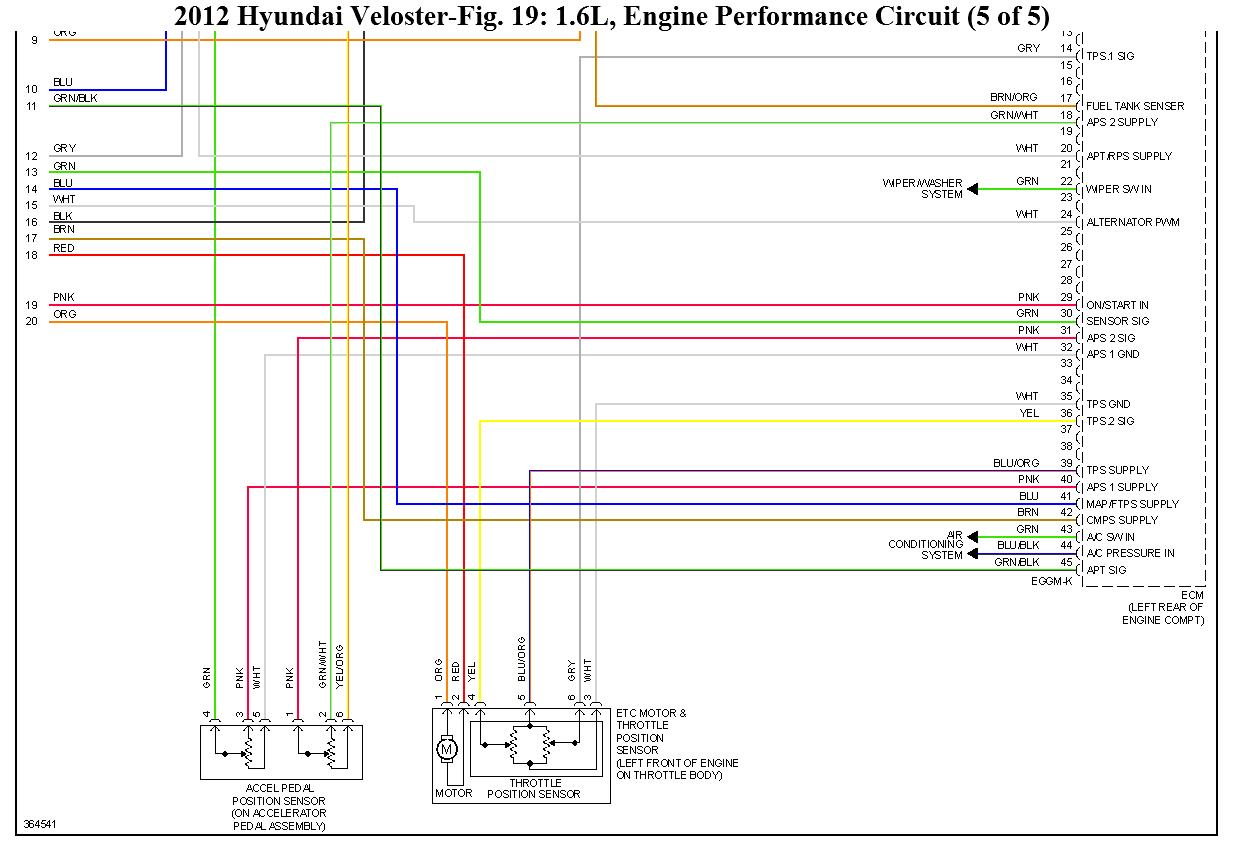 No Start Power To Fuel Pump 2012 Hyundai Accent Starter Wiring Diagram Thumb