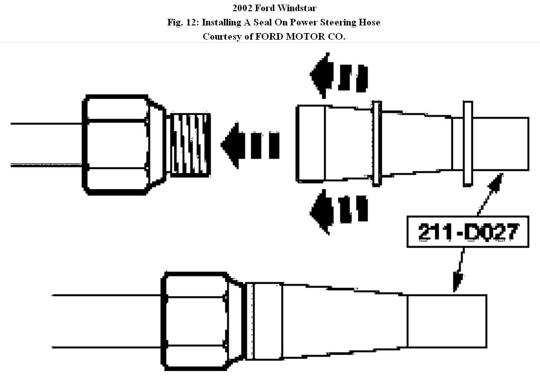 2002 ford windstar power steering diagram  ford  auto