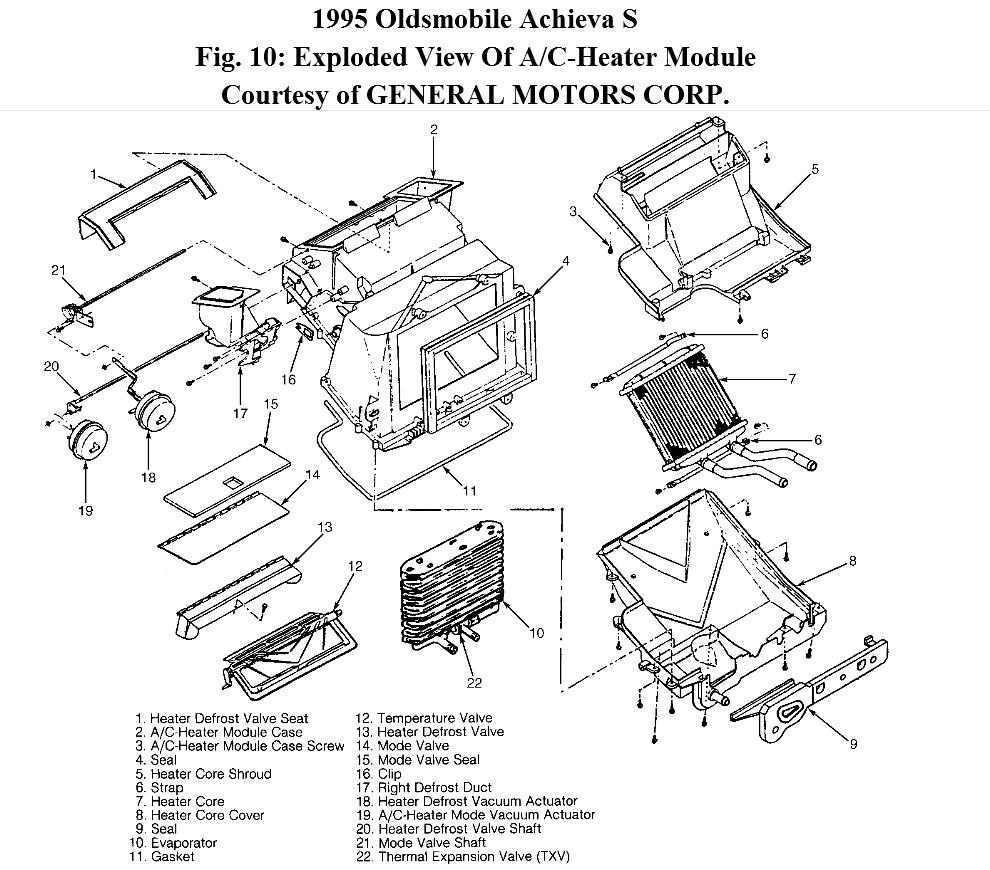 1995 Oldsmobile Cutl Ciera Wiring Harness Diagram