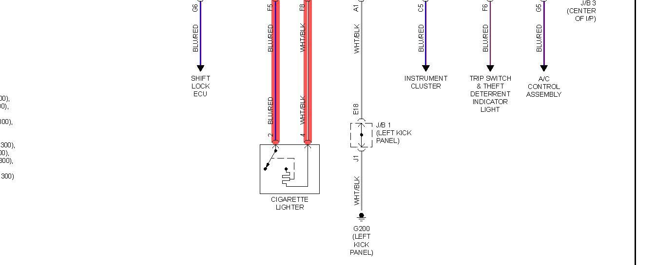 lighter problems  chekced fuse for cigarette lighter on