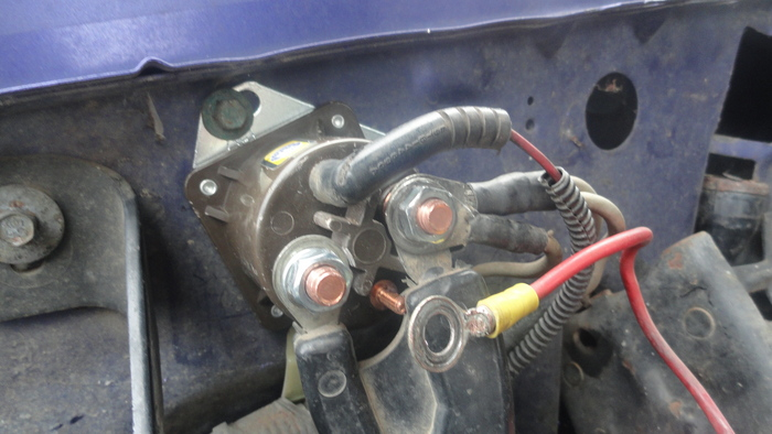95ford F150 Xl V8 5 0 Solenoid Prob Tried to Crank Truck