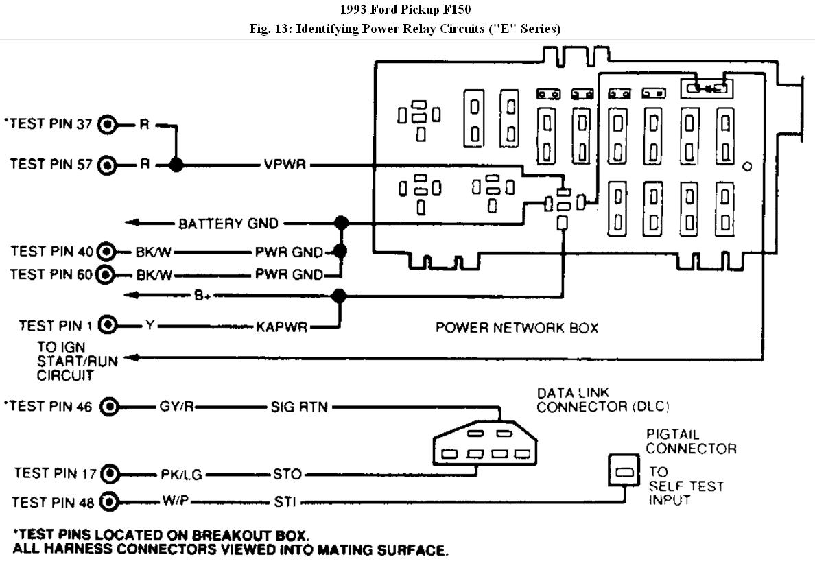 Trouble Code 93 Ford F150 Reading 552 Air Management Circuit. Ford. Secondary Air Valve 1996 Ford F 150 Emission System Diagram At Scoala.co