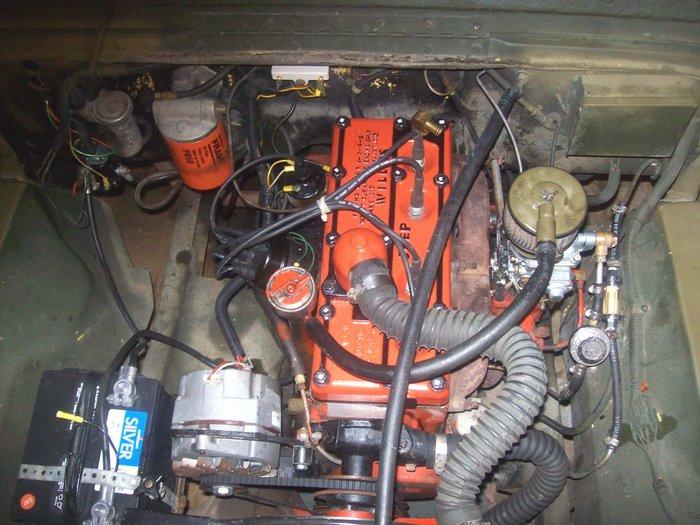 My Cj Has Recently Been Rebuilt  The Engine Dies