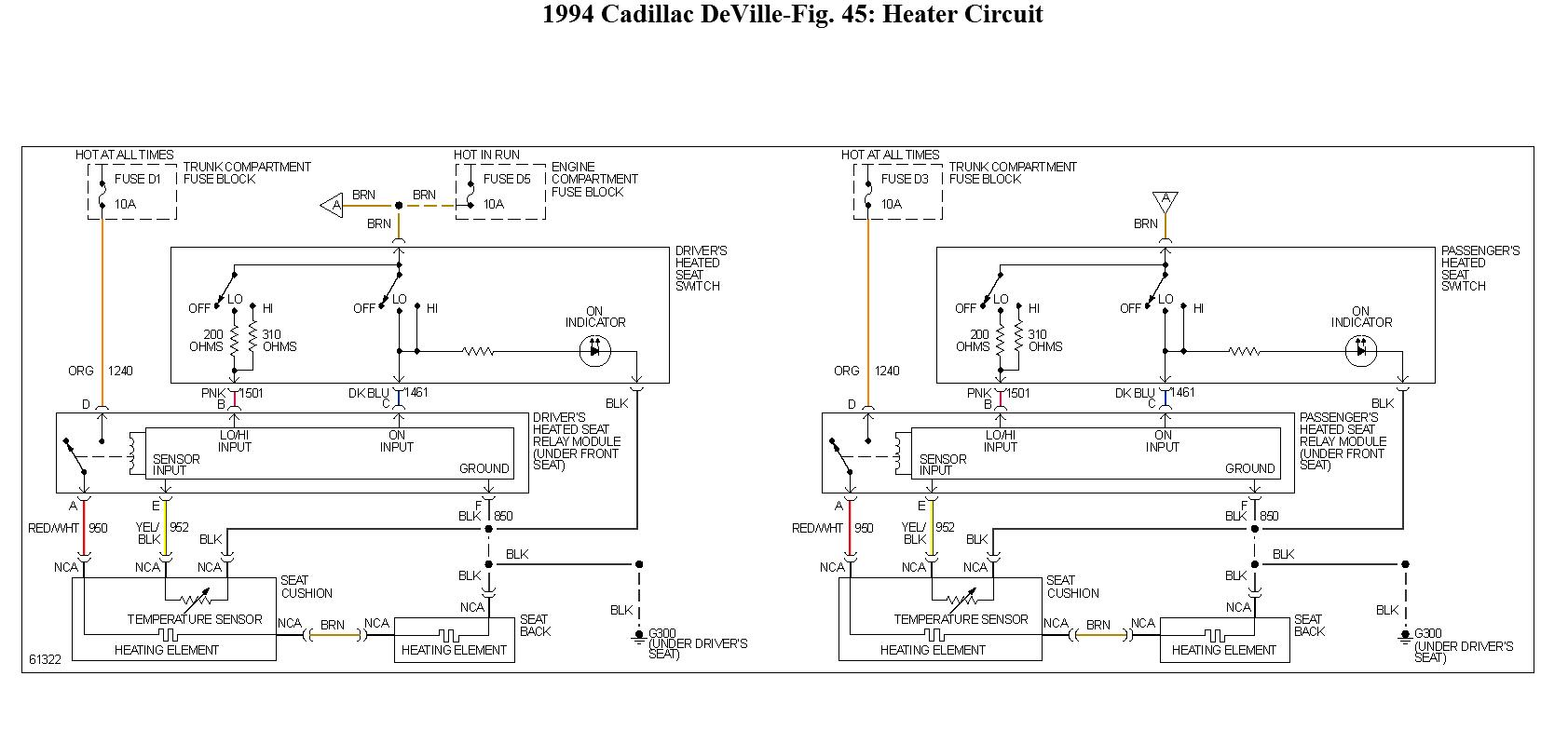 Fuse Box 1994 Cadillac Deville Wiring Library 2004 Diagram Question 5 60 Amp Maxifuse Controls