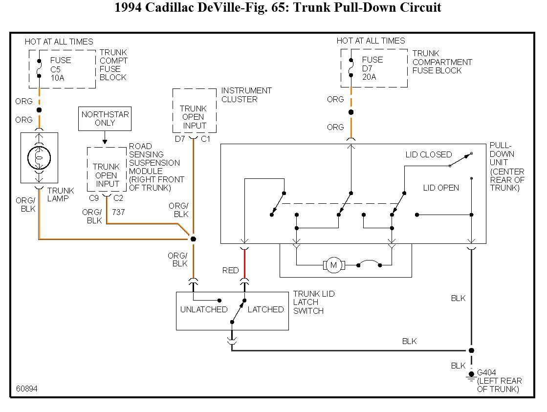 1994 Cadillac Deville Wire Diagram Books Of Wiring Electrical Diagrams Abs Question Fuse 5 60 Amp Maxifuse Controls Rh 2carpros Com