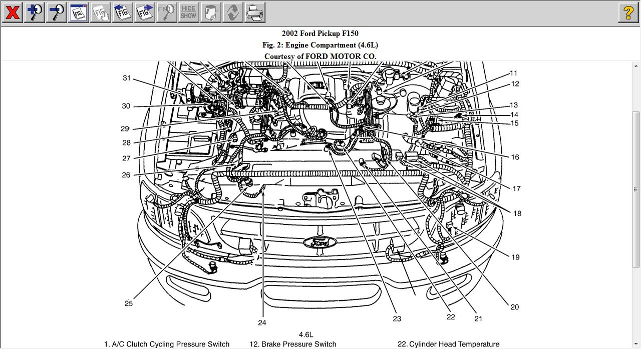 service engine light  2002 f150 4 6 triton replaced 2 coil