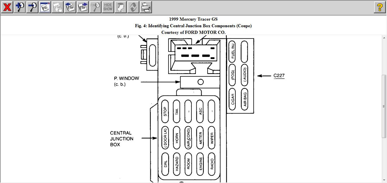 [SCHEMATICS_4UK]  E85 94 Mercury Tracer Fuse Box | Wiring Resources | 1993 Mercury Tracer Fuse Box |  | Wiring Resources