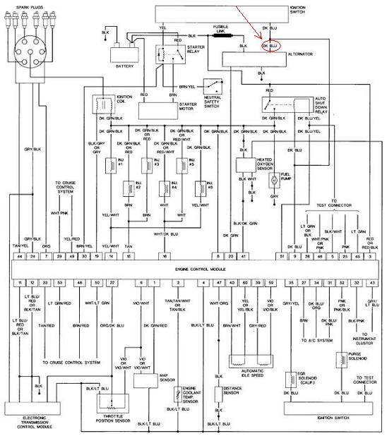 dodge dynasty charging system trouble i have a 1990 , page 2 1991 dodge dynasty interior 1991 dodge dynasty wiring diagram #25