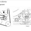 Serpentine Belt Diagram: Nissan Altima 2004 Serpentine