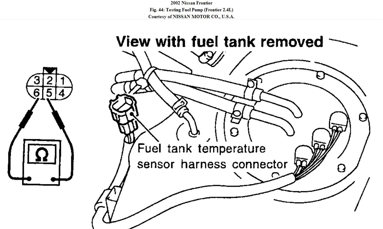 fueln system  2002 frontier 4x4 3 3 s  c truck won u0026 39 t start