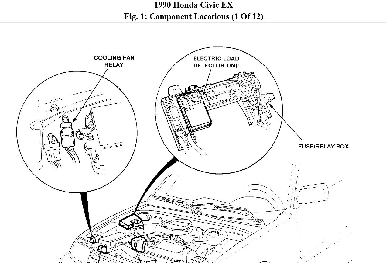 I Need Help Getting My Car Running After Fuse Box Lights And 1997 Honda Civic Ex Diagram Thumb
