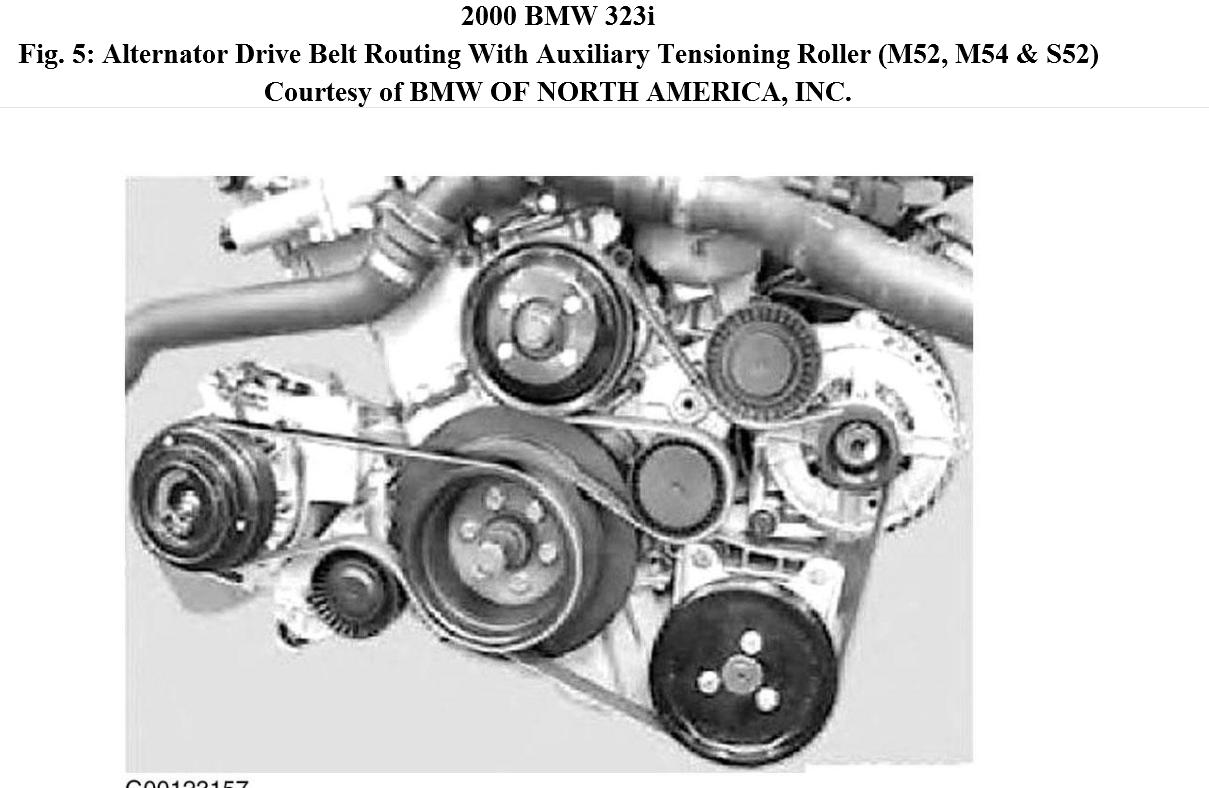 need a drive belt diagram please water pump collapsed and took rh 2carpros  com bmw 318i fuse box diagram bmw 318i e30 wiring diagram