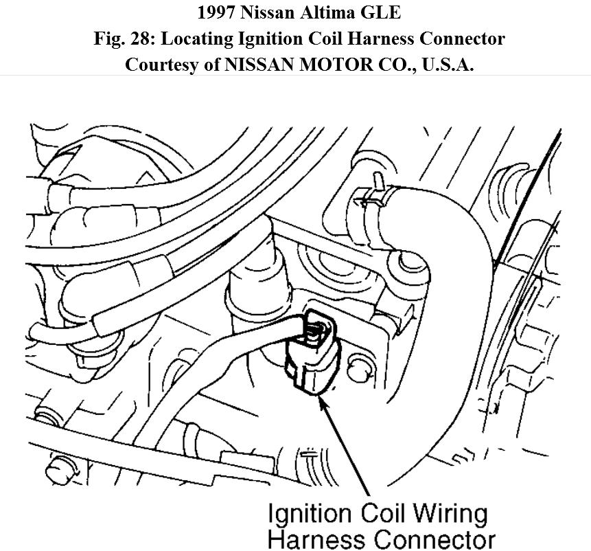 2000 Nissan Maxima Ignition Coil Wiring Harness Images ...