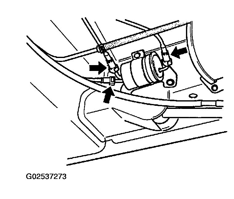 2007 Dodge Fuel Filter Location