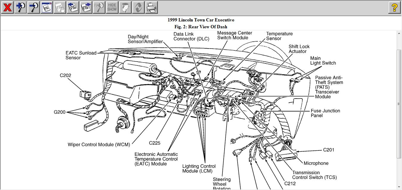 1999 lincoln town car wiring diagram   36 wiring diagram