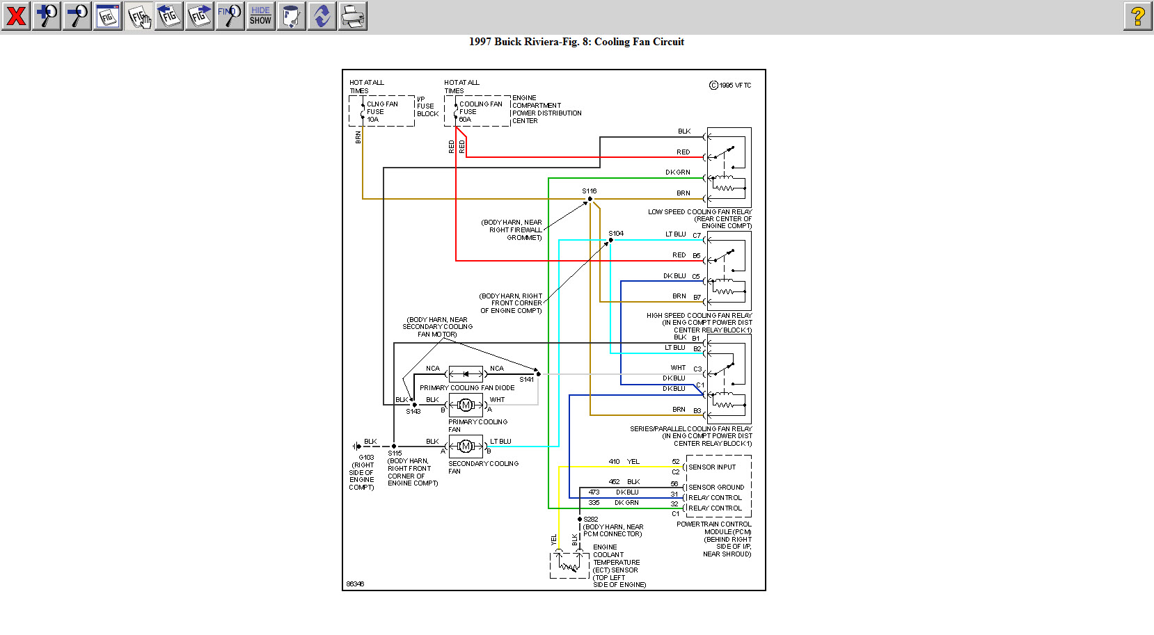 1997 Buick Riviera Why Wont My Cooling Fans E On In. Buick. 1995 Buick Riviera Cooling System Diagram At Scoala.co