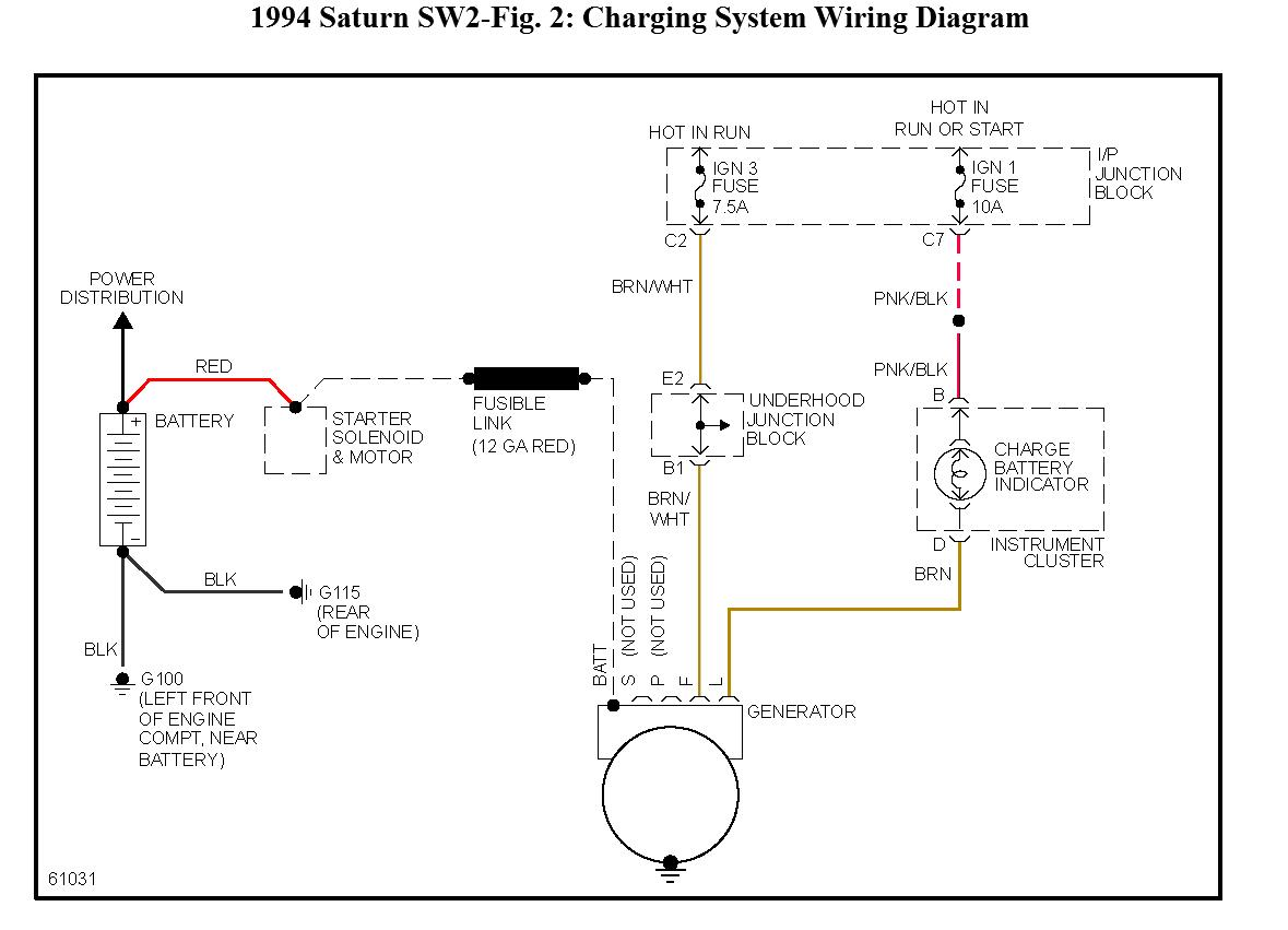 3 Wire Alternator Wiring Diagram