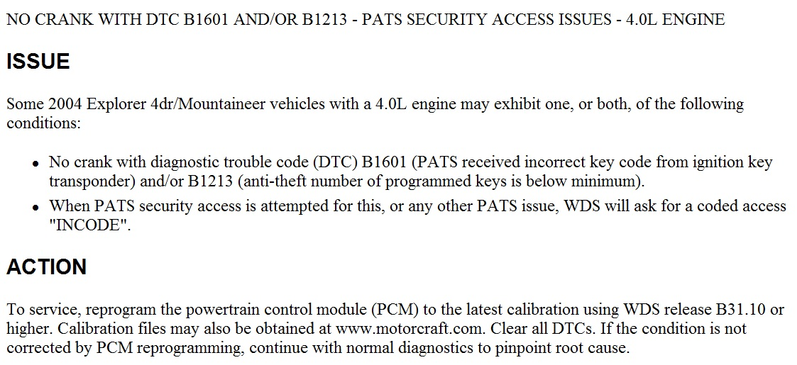 Car Won U0026quot T Start  Doesn U0026 39 T Recognize The Set Of Keys  Come On Won U0026 39 T