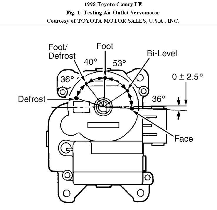 2007 toyota camry air vent diagram  toyota  auto parts
