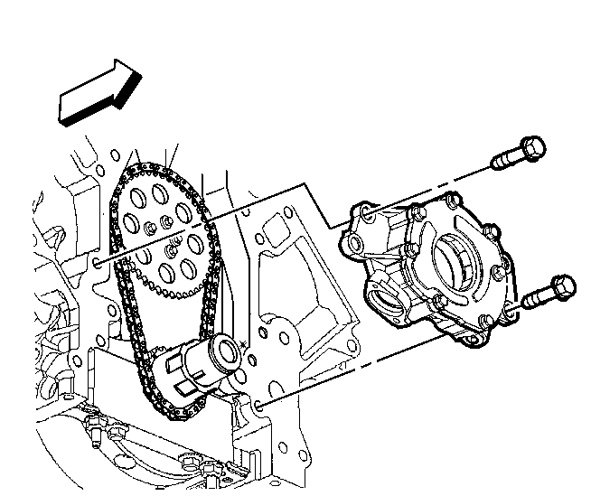 how to change oil pump in a 1989 citroen cx