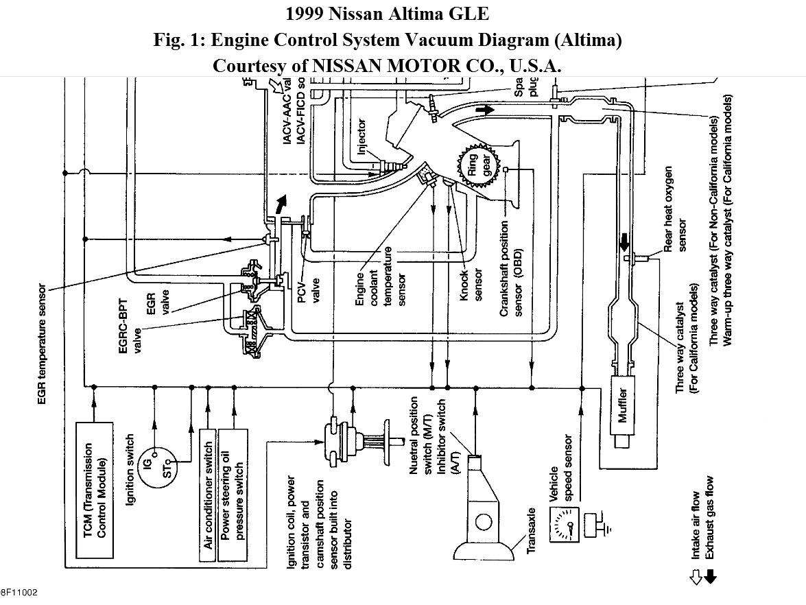 Vacuum Line Schematic Diagram Where Can I Find A Nissan Engine Cooling Thumb