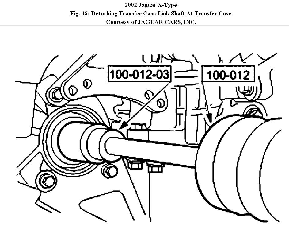 2002 jaguar x type rear suspension diagram