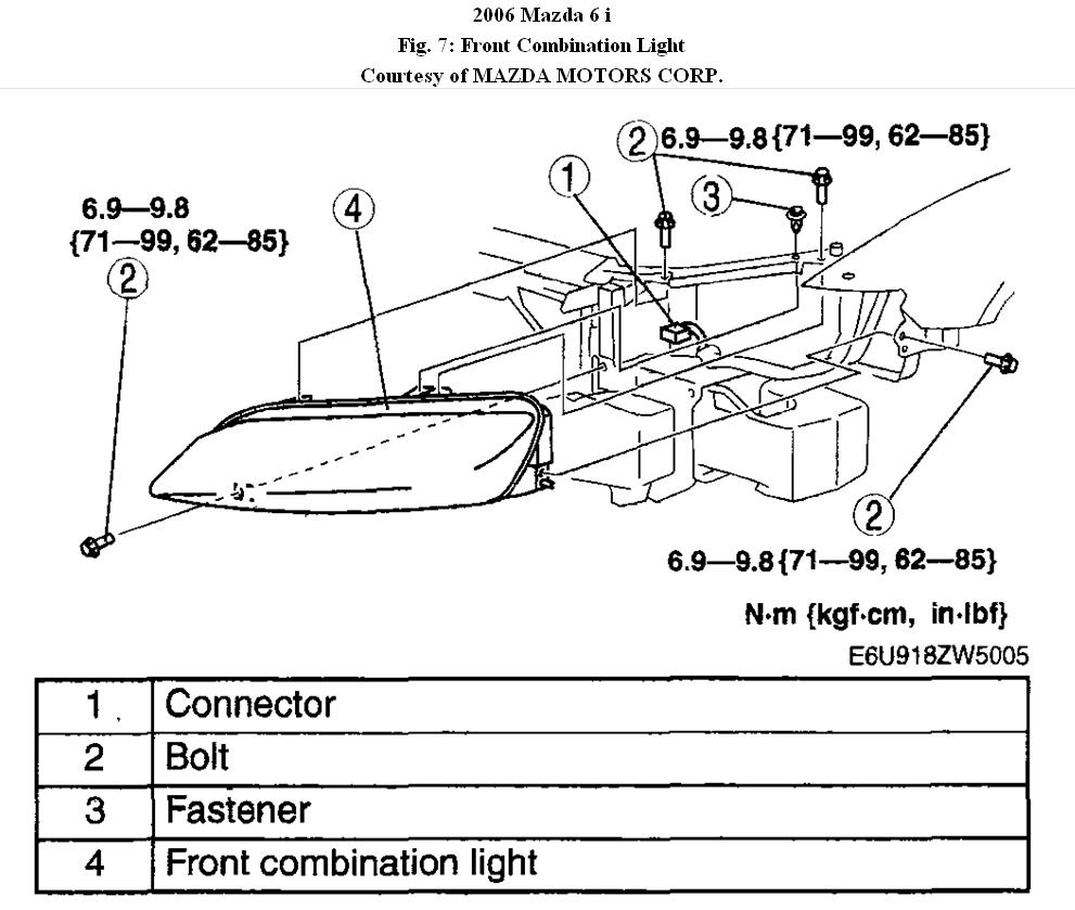 06 Mazda 6 Headlight Diagram Trusted Wiring 2004 Manual Of U2022 Fog Projectors