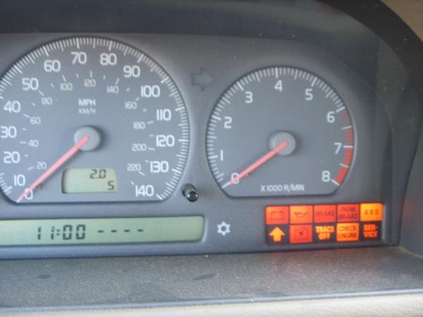 1998 Volvo S70 All Warning Lights Always On
