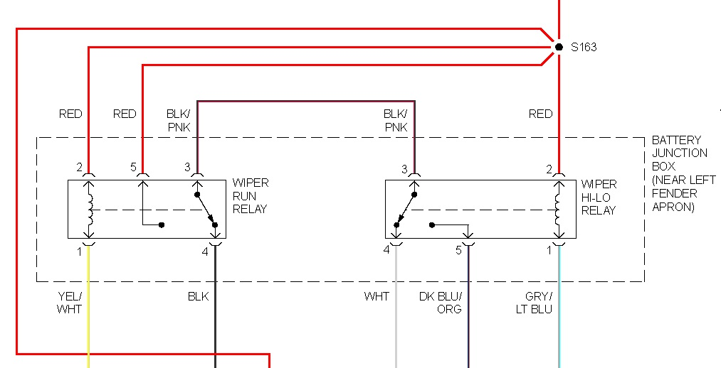ford explorer sport wiring diagram wiper relay location where is the wiper relay switch located   wiper relay location where is the wiper relay switch located