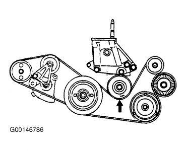 2005 Hyundai XG350 Changing Drive Belt: Electrical Problem ...