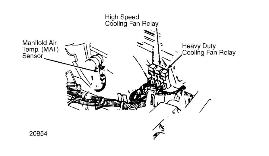 Electric Radiator Fan Relay Switch Electric Fan Relay Location 86
