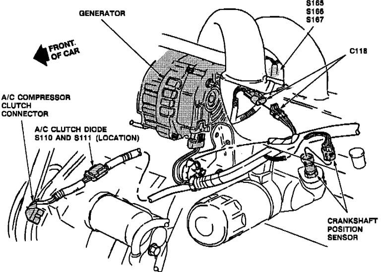 Grand Am Crankshaft Position Sensor