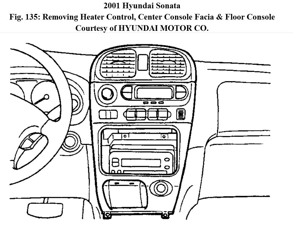 How To Remove The Climate Control Panel On A 2001 Hyundai Sonata