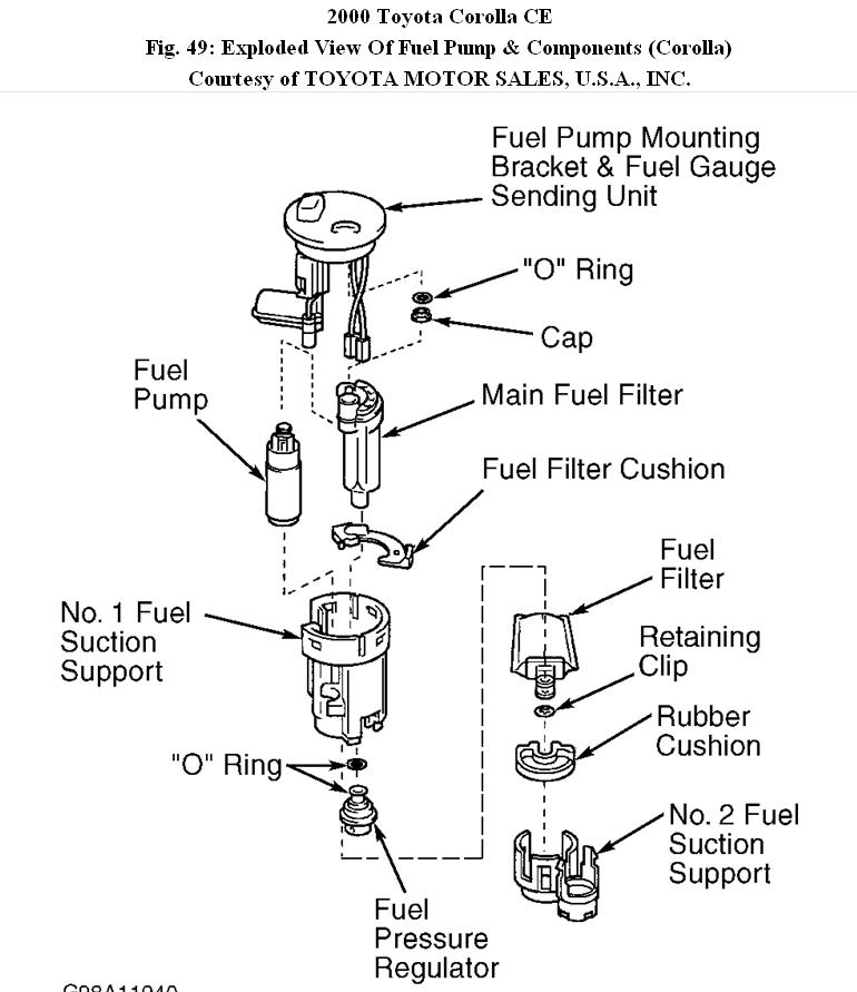 Fuel Filter Hello All How Do I Connect The Fuel Pump To The Fuel