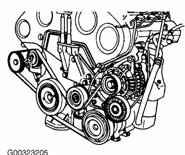 GS also P 0996b43f80f65544 in addition How To Adjust Belt Tension On A 2007 Hyundai Santa Fe also 2000 2005 Ford Ranger 5 0l Vin P Serpentine Belt Diagram as well 2006 Impala Belt Diagram 3 5. on mercury grand marquis tensioner