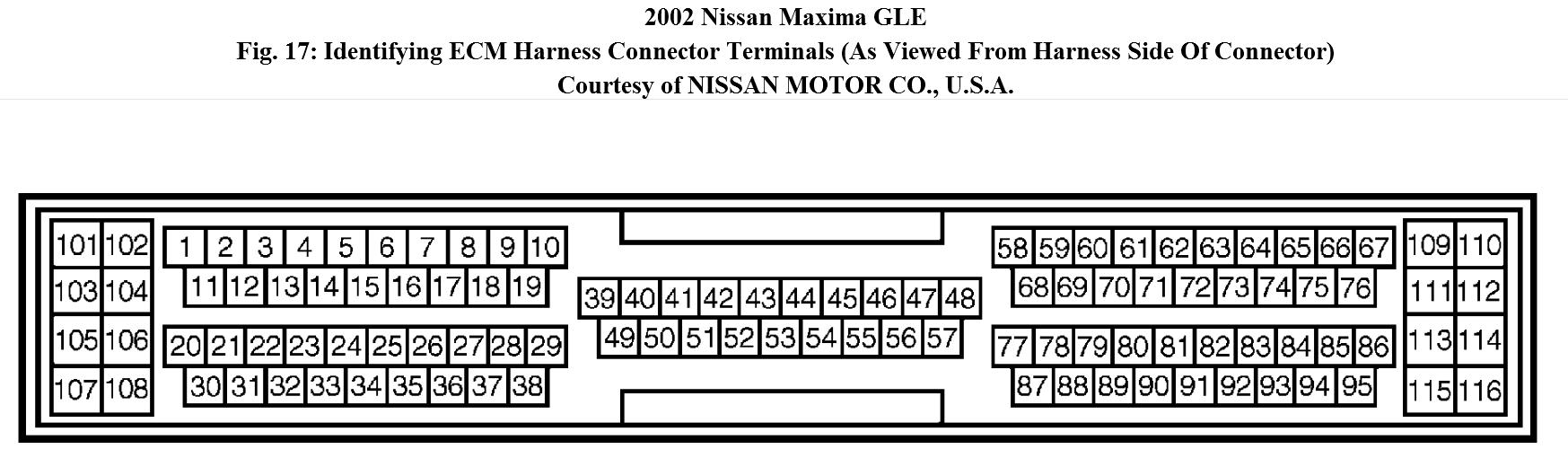 Code P1800 I Have To Pass Emissions Inspection But Had 2003 Nissan Murano Wiring Harness Thumb