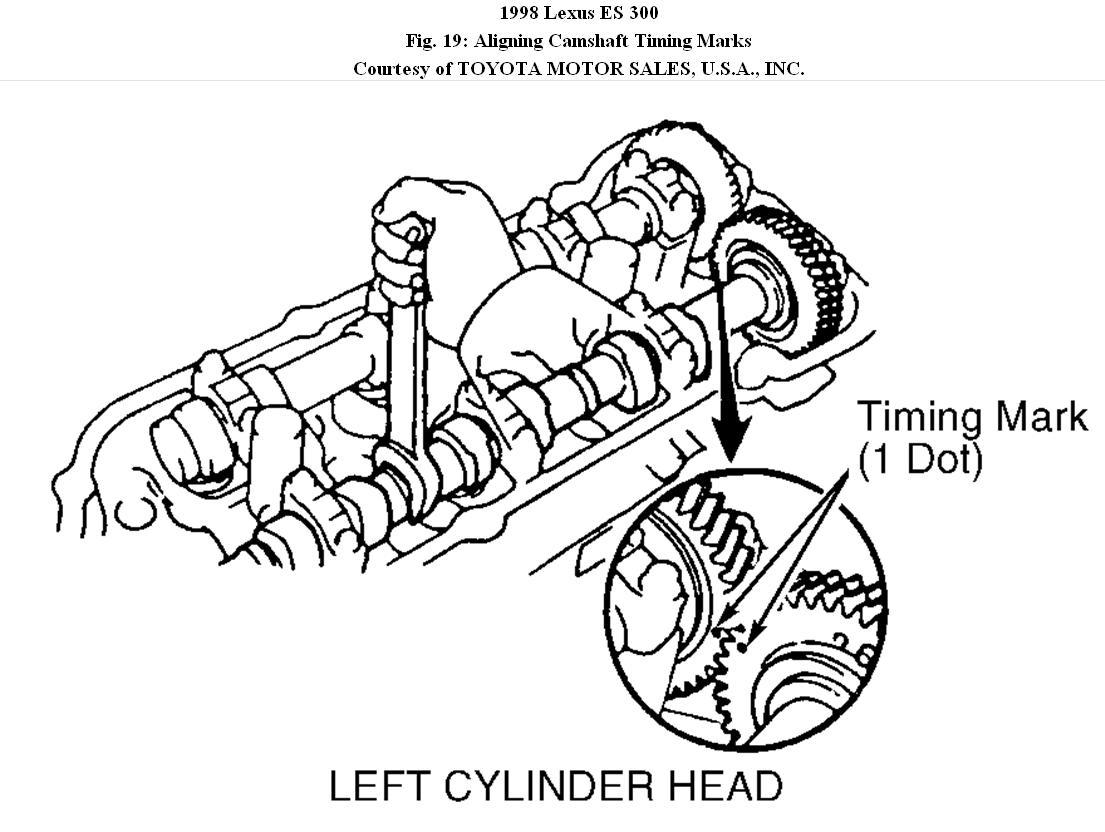 engine specs  i am rebuilding a 1998 lexus es300 motor 1mz