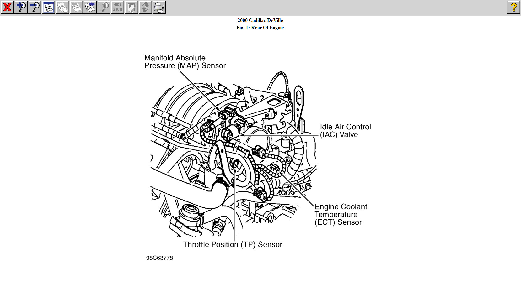 belt routing diagram cadillac 1998 html