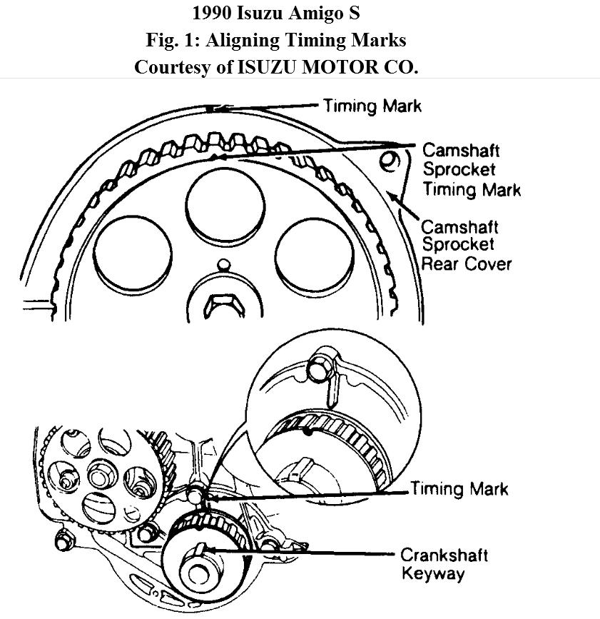how do you replace broke timing belt