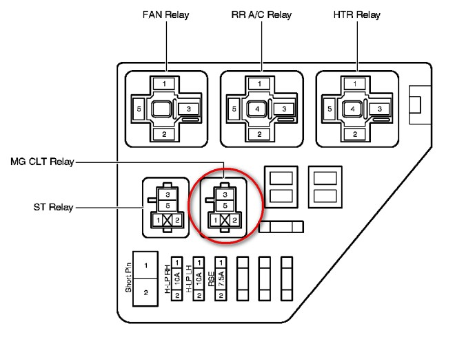 Ac Relay Location  I Have Intermittent Ac Operation  I U0026 39 Ve