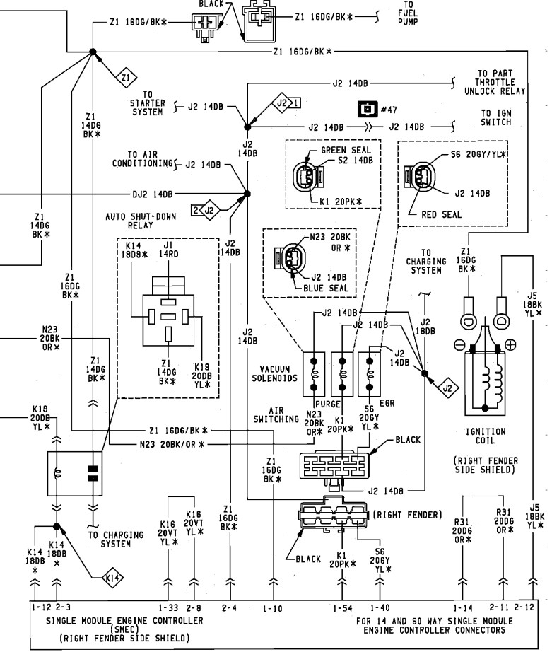2004 dodge stratus inertia switch location - wiring ... wiring diagrams for 1988 dodge dakota #7