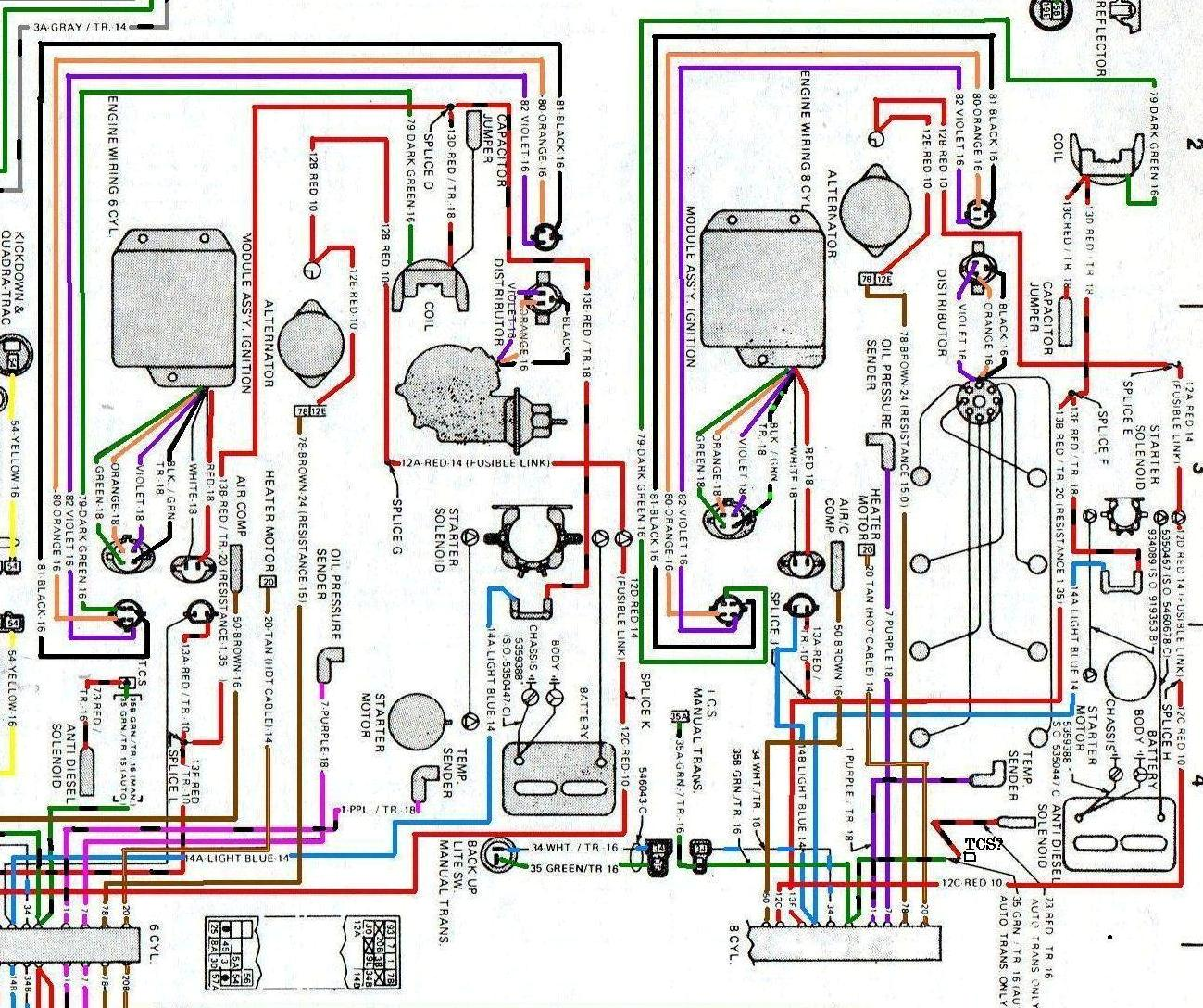 1979 Jeep Cj5 Wiring Diagram In Color - Wiring Diagram •